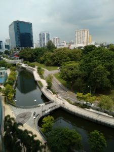 Rochor Canal & the greenery around, September 2016
